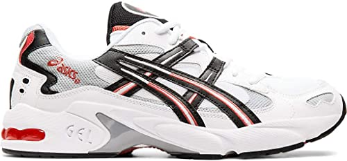ASICS Tiger Men's Gel Kayano 5 OG Sneakers, WhiteBlack