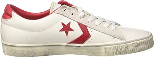 Converse Pro Leather Vulc Ox, Sneakers Mixte Adulte, Blanc