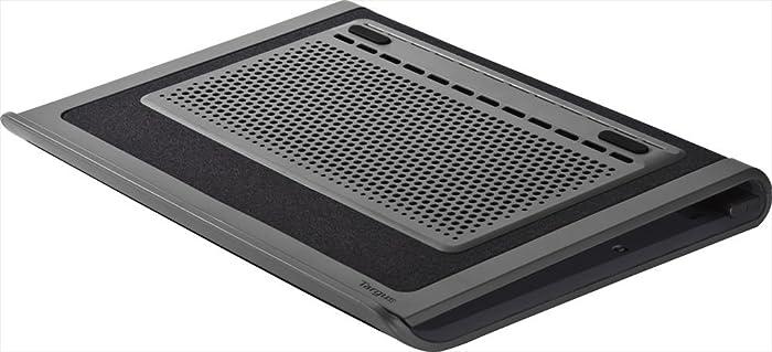Targus Space Saving Lap Chill Mat for Laptop up to 17-Inch, Gray/Black (AWE80US)