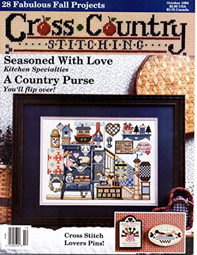 Cross Country Stitching December 2005 back issue magazine