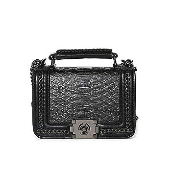e6365bb42e22 Amazon.com: Kommschonff Womens Handbags Clutch Bag Snakeskin Pattern ...