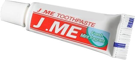 Viajes Mini pasta de dientes pasta de dientes, Blanco, pack de 10: Amazon.es: Hogar