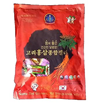 Amazon com : [Korea Ginseng Distribution Corporation] Korean Red