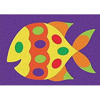 Lauri Crepe Rubber Puzzles - Fish