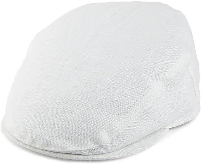 Failsworth Irish Linen Flat Cap Lightweight Summer Cap Ivy Cap