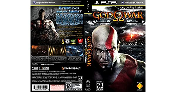 Sony God of War: Ghost of Sparta, PSP - Juego (PSP, PlayStation ...