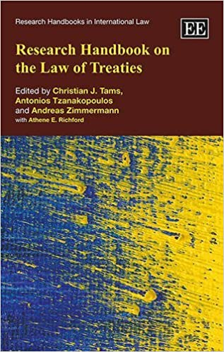 Book Research Handbook on the Law of Treaties (Research Handbooks in International Law series) [5/25/2016] Christian J. Tams