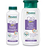Himalaya Baby Powder-400g with Baby Shampoo-200ml