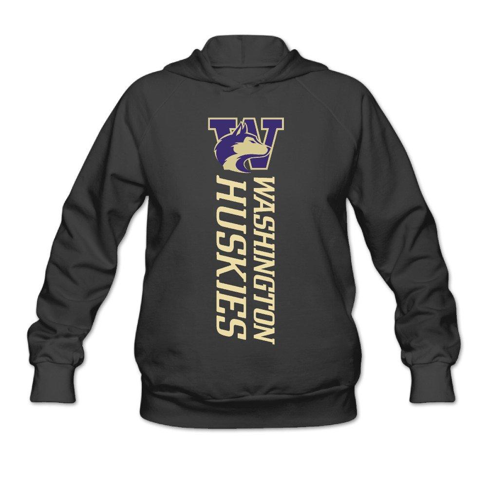 RABBEAT Women's Sweatshirt Washington Huskies Football Black