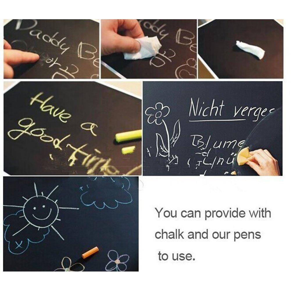 Amazon.com: Studyset Blackboard Wall Sticker Month Calendar Chalkboard Memo Sticker Office Home Decoration DIY Tag Important Events: Home & Kitchen