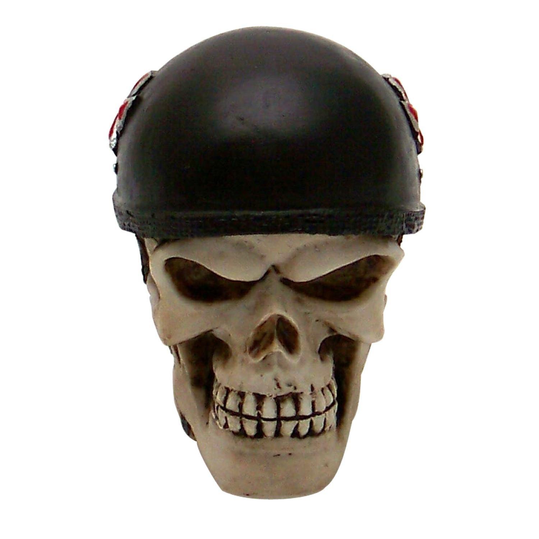 Vintage Parts 62429 Biker Skull Custom Shift Knob//Topper