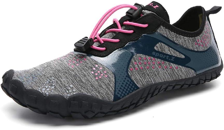 KISCHERS - Zapatillas Unisex con Dedos para el Agua, Secado rápido, para Hombre y Mujer, Color Negro, Talla 39 EU: Amazon.es: Zapatos y complementos