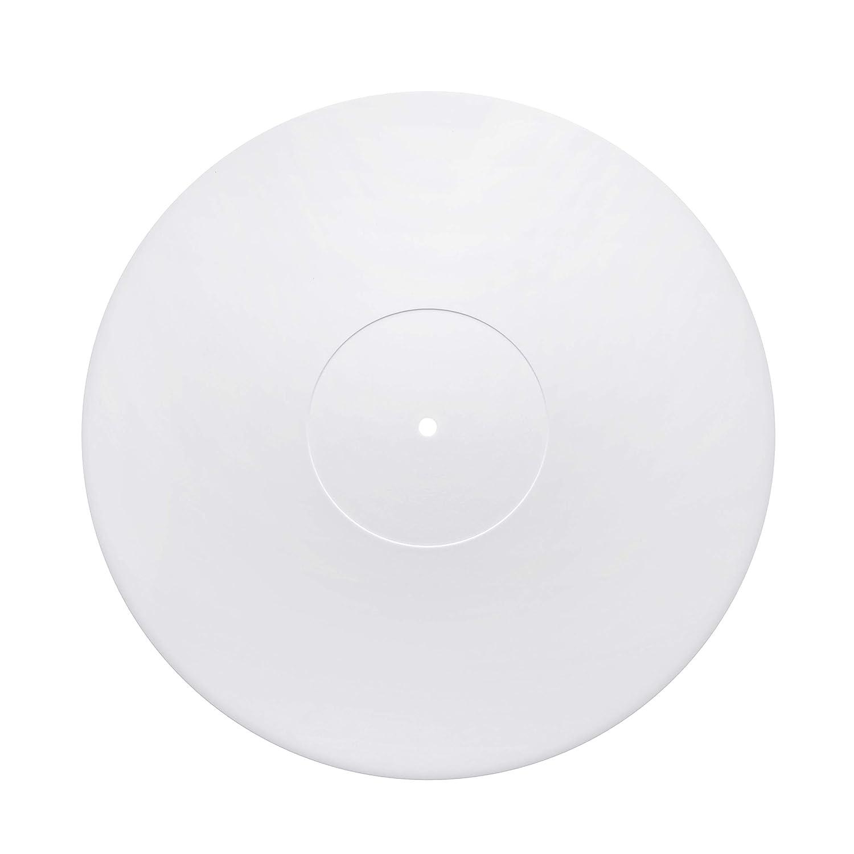 Acrylic Turntable Mat   Transparent   LP Slipmat Made in USA Hudson Hi-Fi ASMT1