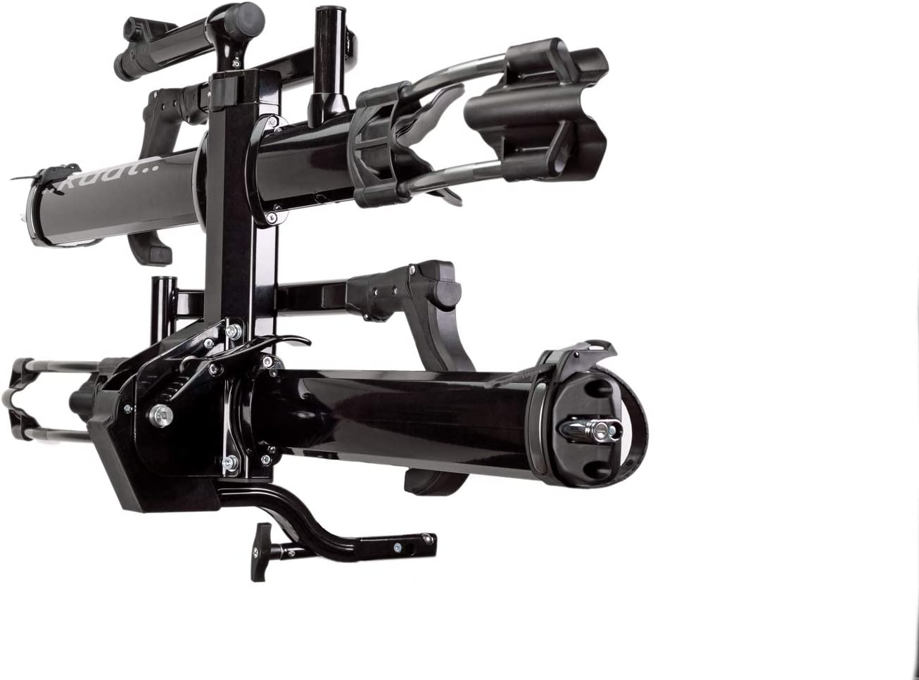 NA22B +2-Bike Rack Kuat Hitch Mounted NV Add-On 2.0-2 Black Metallic