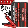 (2 PACK) Anti-gravity MICRO START XP-10HD Heavy Duty 600 Amp Car + DIESEL Jump Starter, Power Bank 18000 mAh, and Flashlight