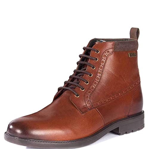 f525ce97410 Mens Barbour Hury Leather Work Smart Office Derby Formal Ankle Boots ...