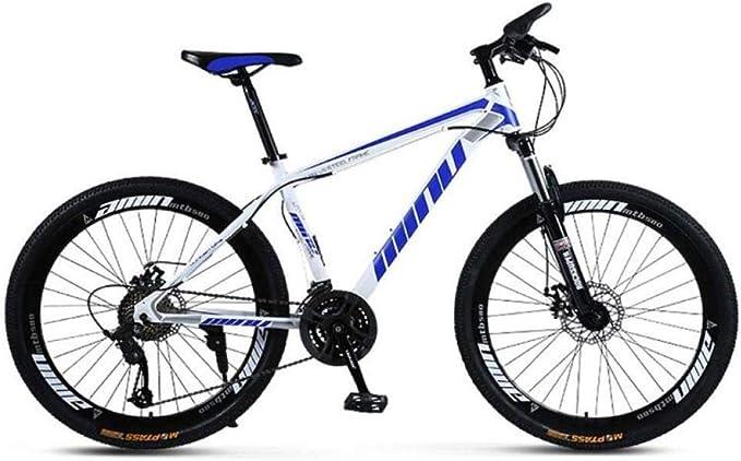 Bicicleta de Montaña Bicicleta de Montaña para Adultos 26 Pulgadas ...