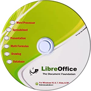 Office Suite for Windows 10 8 7 Vista XP by Libre Office Software and Computer Guide - Compatible with Microsoft Office files Word, Excel and PowerPoint