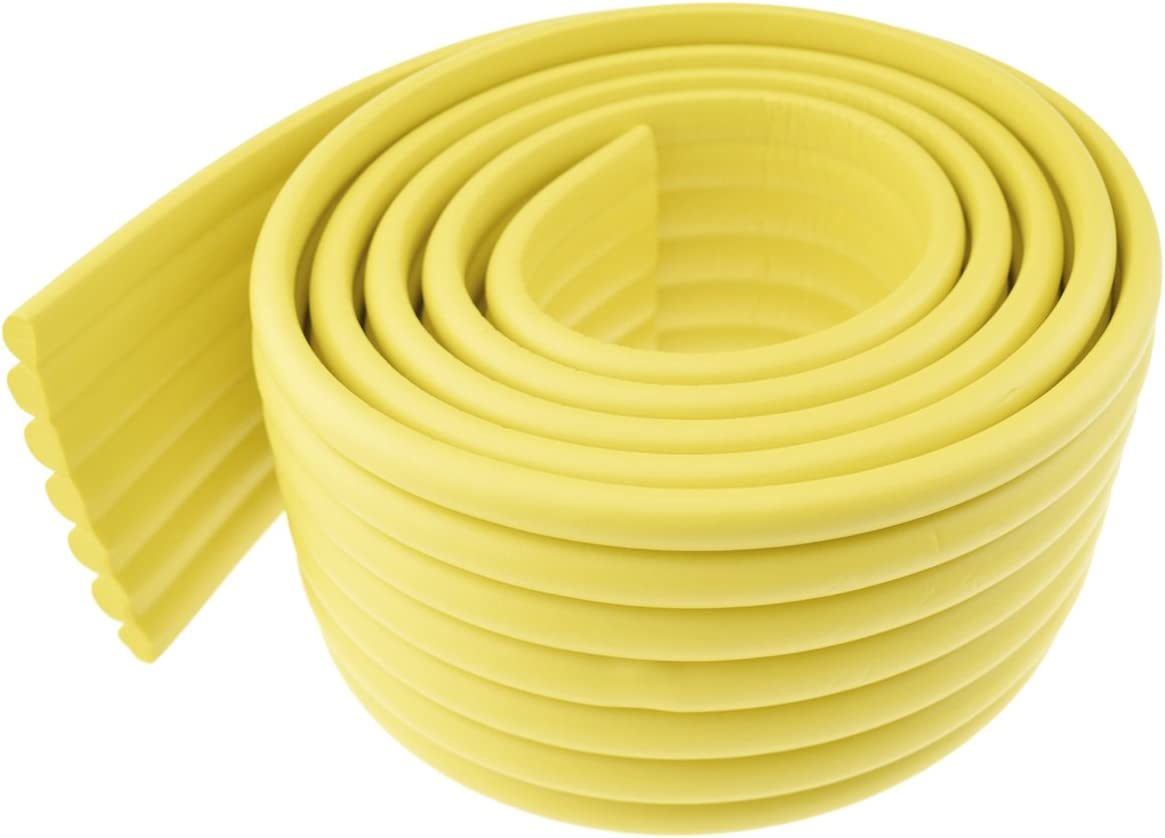 FiveSeasonStuff Versatile Protectors for Kids Corner /& Most Surfaces Peace of Mind Baby Proofing and Child Safety 1 Roll 2 Metres 80mmx8mm Multifunctional Foam Guard Prevents Injuries from Edge