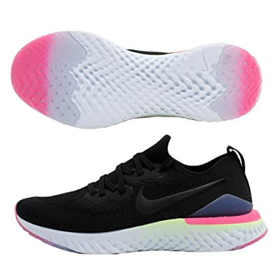 944cf6c26 Nike Epic React Flyknit 2 Men's Running Shoe Black/Black-Sapphire-Lime Blast