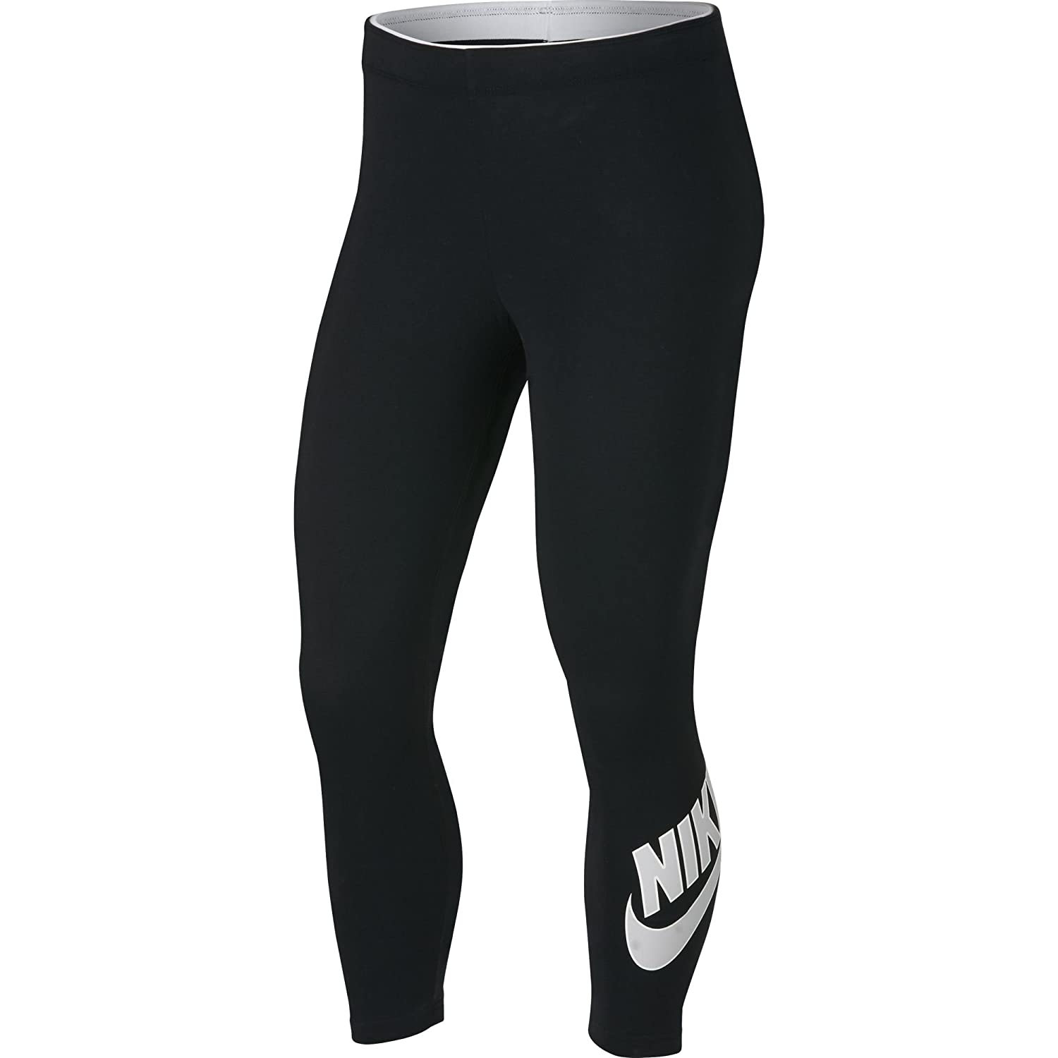 NIKE Women's Sportswear Club Futura 3/4 Leggings Nike Apparel (Sporting Goods) 929178-P
