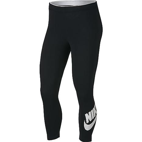 Amazon.com  NIKE Women s Sportswear Club Futura 3 4 Leggings 4f6217ad1e