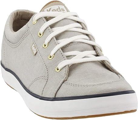 Center Mixed Chambray Sneaker
