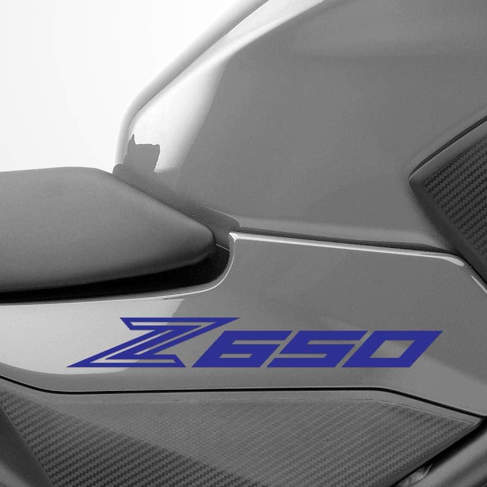 Gloss Black Motorcycle Superbike Sticker Decal Pack Waterproof for Kawasaki Z650