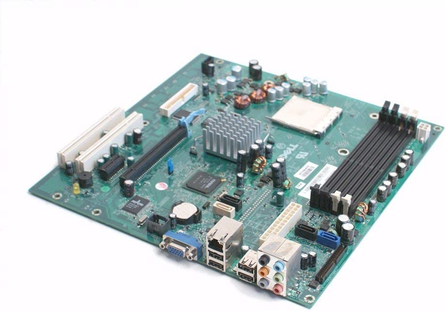 Genuine Dell YY838 AMD Motherboard Mainboard for The Dell Dimension E521 Desktop (DT) System, Compatible Dell Part Numbers: DR830, HK980, CT103, UW457 (Renewed)
