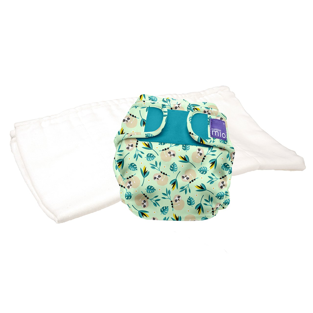 Bambino Mio Miosoft Reusable Nappy Trial Pack - White, Size 1 ( Size 1 (<9kg) TPMS1 A