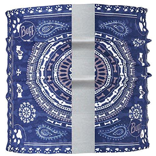 BUFF Unisex Dog Neckwear Reflective, R-Dogdana Blue , M/L