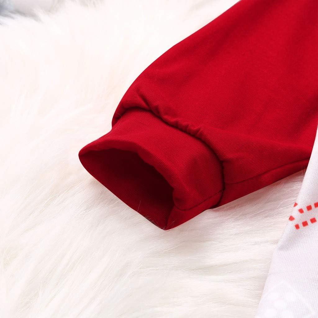 Xiangdanful Baby Weihnachten Kleidung Neugeborene M/ädchen Jungen Strampler Jumpsuit Outfits Hirsch Baby Overall Strampelanzug Weihnachts-Outfit Xmas S/äugling Spielanzug Pyjamas