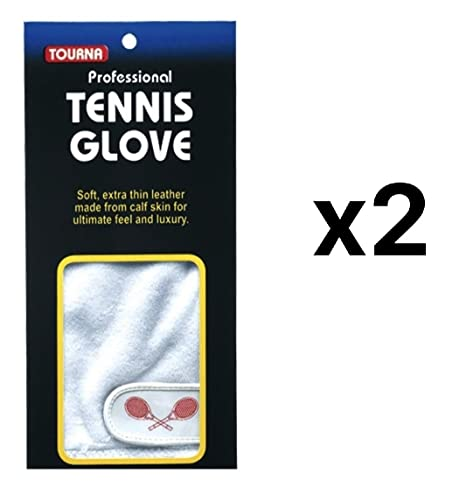 Camping & Outdoor Tourna Women Youth Half Finger Tennis Glove Sheepskin Leather Right Hand Medium