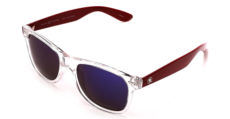 331580612f Samba Shades Polarized Modern Venice Wayfarer Sunglasses with Carbon Black  Frame