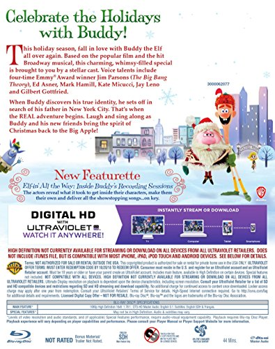 Elf Buddys Musical Christmas.Amazon Com Elf Buddy S Musical Christmas Blu Ray Dvd