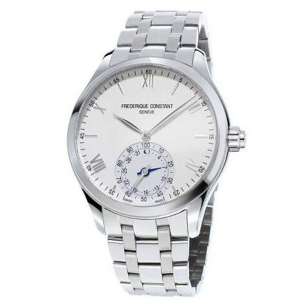 Frederique Constante Horological Smart Watch Plata Dial Acero ...