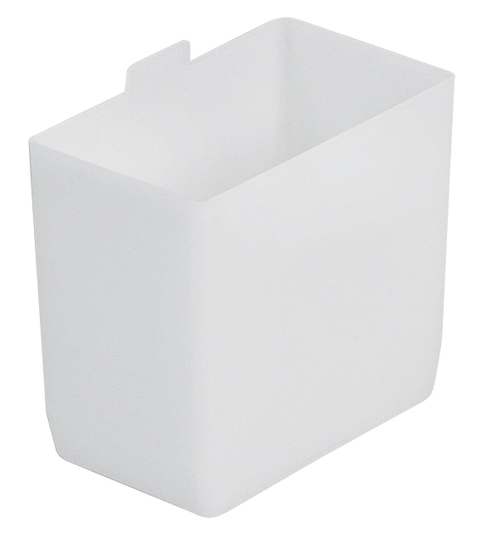 Akro-Mils 30101 2-Inch by 3-1/4-Inch by 3-Inch Small Bin Cup for Shelf Bins, White, 48-Case