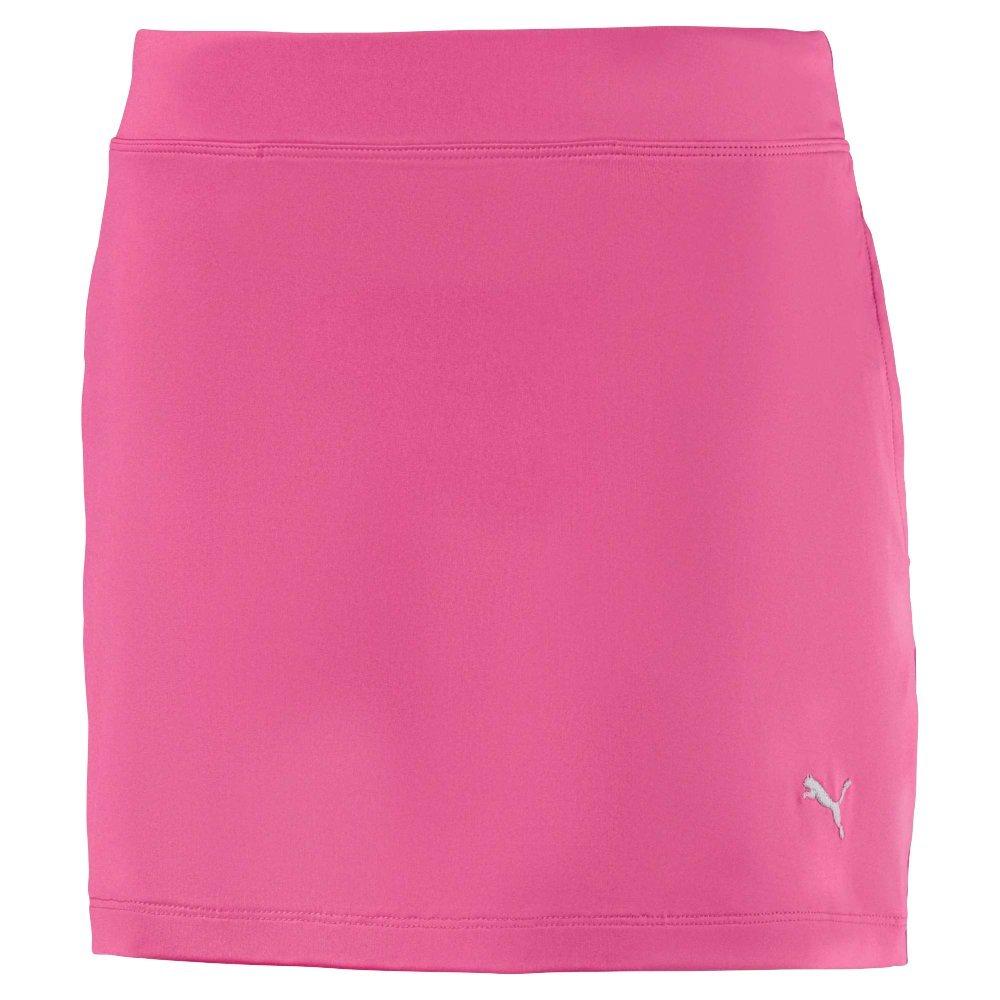 Puma Golf Girls 2018 Solid Knit Skirt, X-Small, Carmine Rose