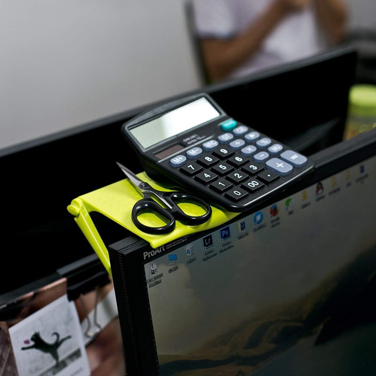Accessoires de Bureau de Table d/écran dordinateur pour l/étag/ère r/églable MZY1188 1 /étag/ère sup/érieure pour Mini /écran,Agrafe de Support de Stockage de Bureau