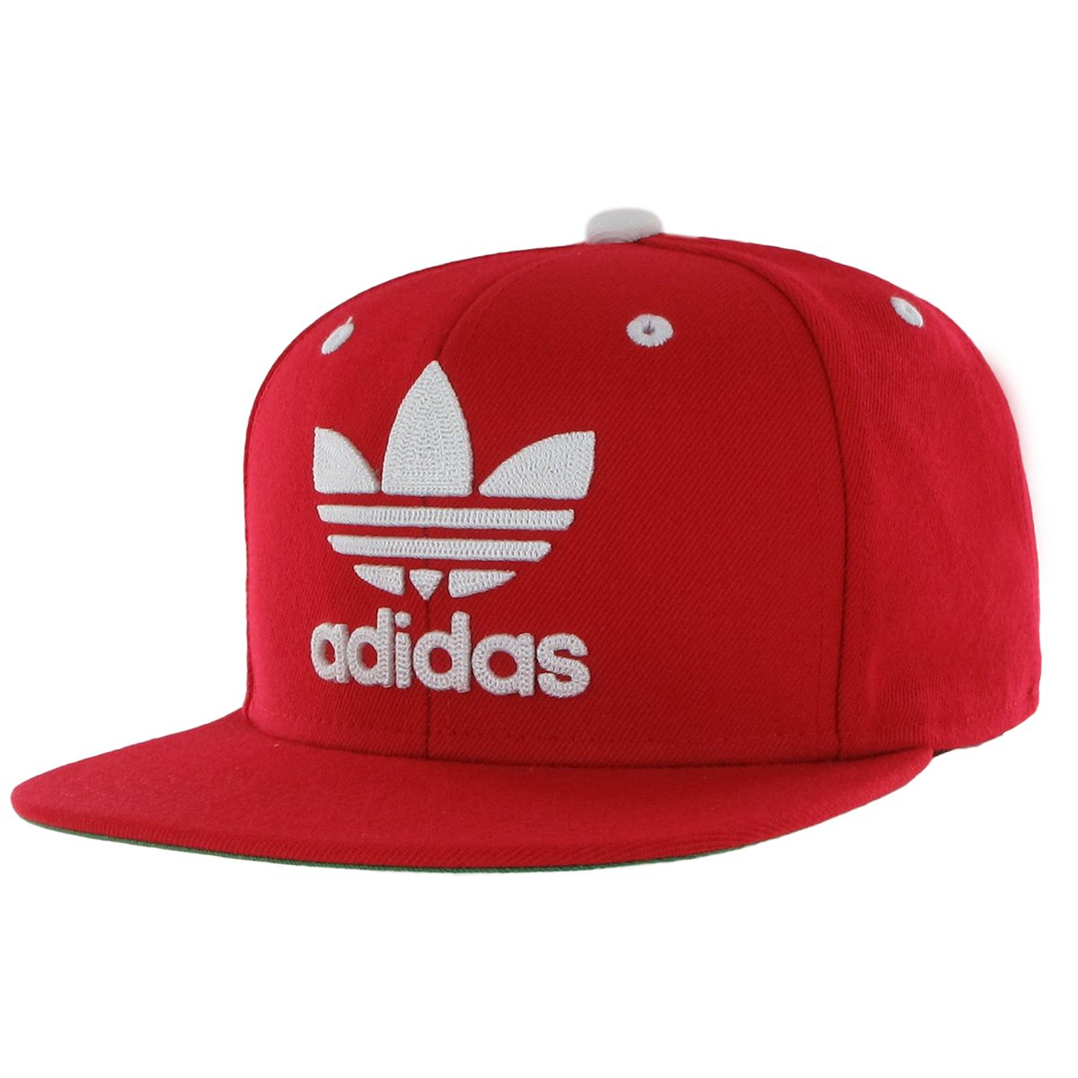 adidas Men's Originals Mens Men's originals snapback flatbrim cap, Scarlet/White, One Size