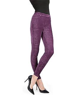 94e733bd7771d MeMoi Thin-Rib Stretch Corduroy Leggings | Women's Premium Leggings ...