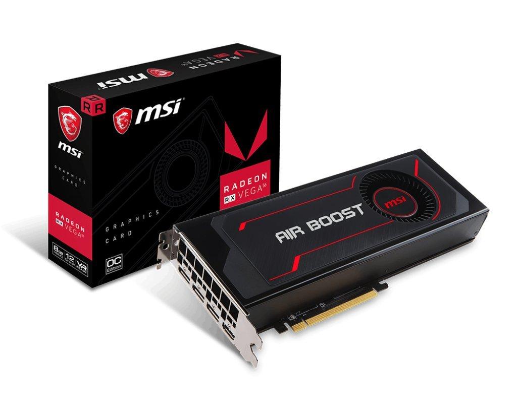 MSI video card Radeon RX Vega 56 Air Boost 8G OC by MSI