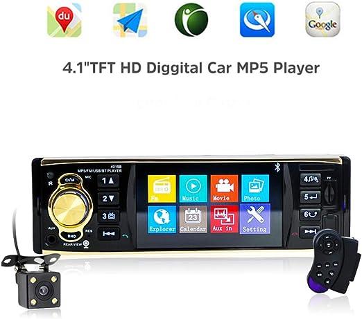Reproductor de DVD para auto, sistema multimedia de radio estéreo para auto con estéreo para automóvil