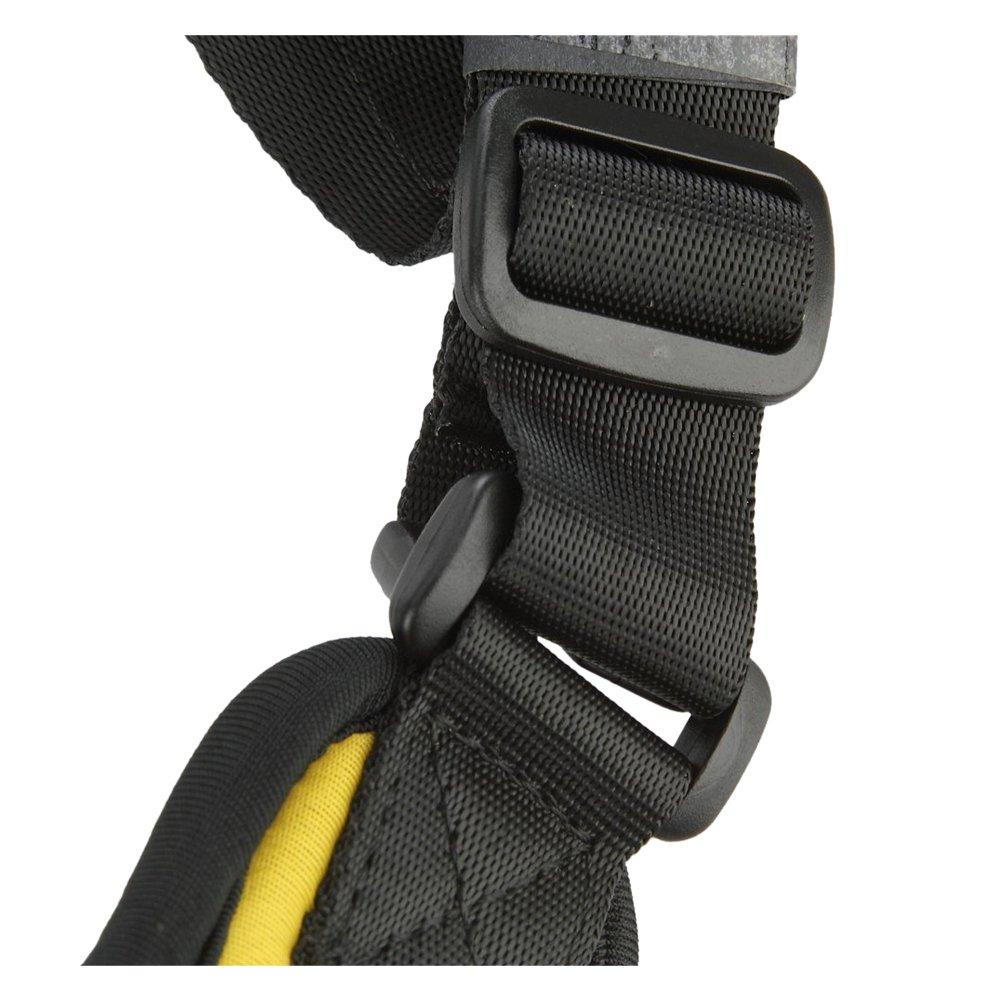 Correa de camara - SODIAL(R) Camara de correa Cinturon correa honda de hombro solo para camara de Canon Nikon Sony (Amarillo): Amazon.es: Electrónica