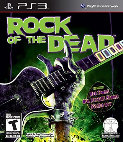 Rock of the Dead - Playstation 3 (Dead Drum Player)
