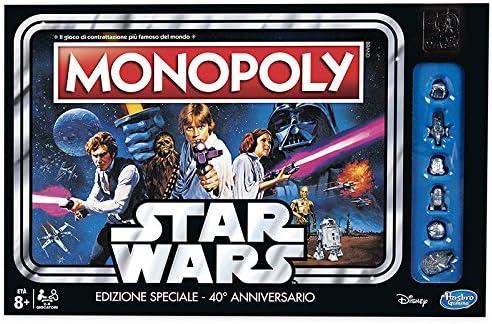 Hasbro – Monopoly Star Wars 40th Anniversary: Amazon.es: Juguetes y juegos