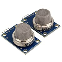 WINGONEER 2PCS Arduino MQ-4 sensore compatibile Mini Gas