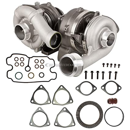 Amazon.com: Compound Turbo Kit With Turbocharger Gaskets For Ford F250 F350 SD 6.4L Diesel - BuyAutoParts 40-80549V1 New: Automotive