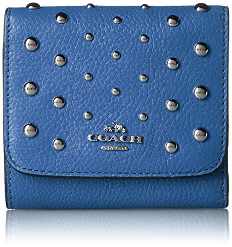 Coach Ombre Rivets Ladies Small Leather Wallet - Rivet Ladies