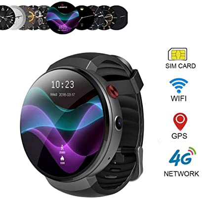 Amazon.com: Konnison-09 4G Smart Watch,Android 7.1 ...
